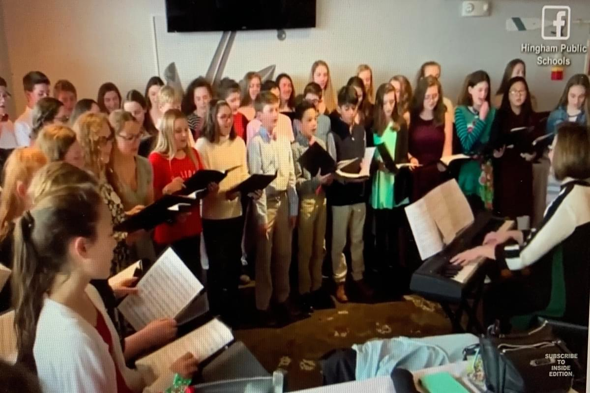 Kids Surprise Choir Director by Singing 'All You Need Is Love' at His Wedding Rehearsal