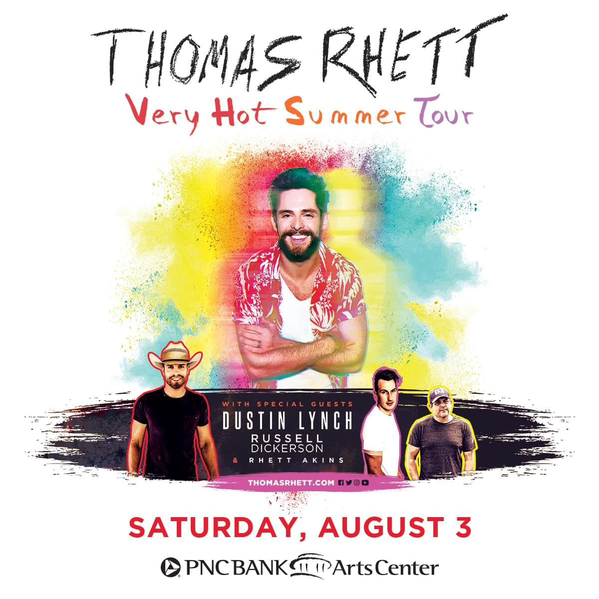 Win Tickets to See Thomas Rhett!