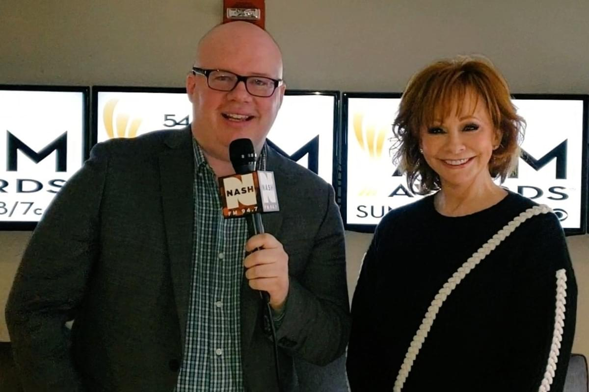 Jesse Addy chats with Reba about the ACM Awards