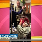Soldier Comes Home to Surprise His Wife Who Gave Birth to Twins