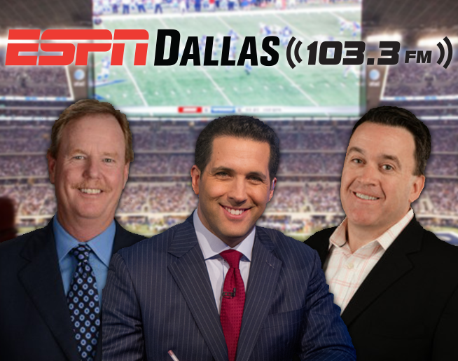 ESPN's Cowboys-NFL Insiders are on 103 3 FM Every Week this Football