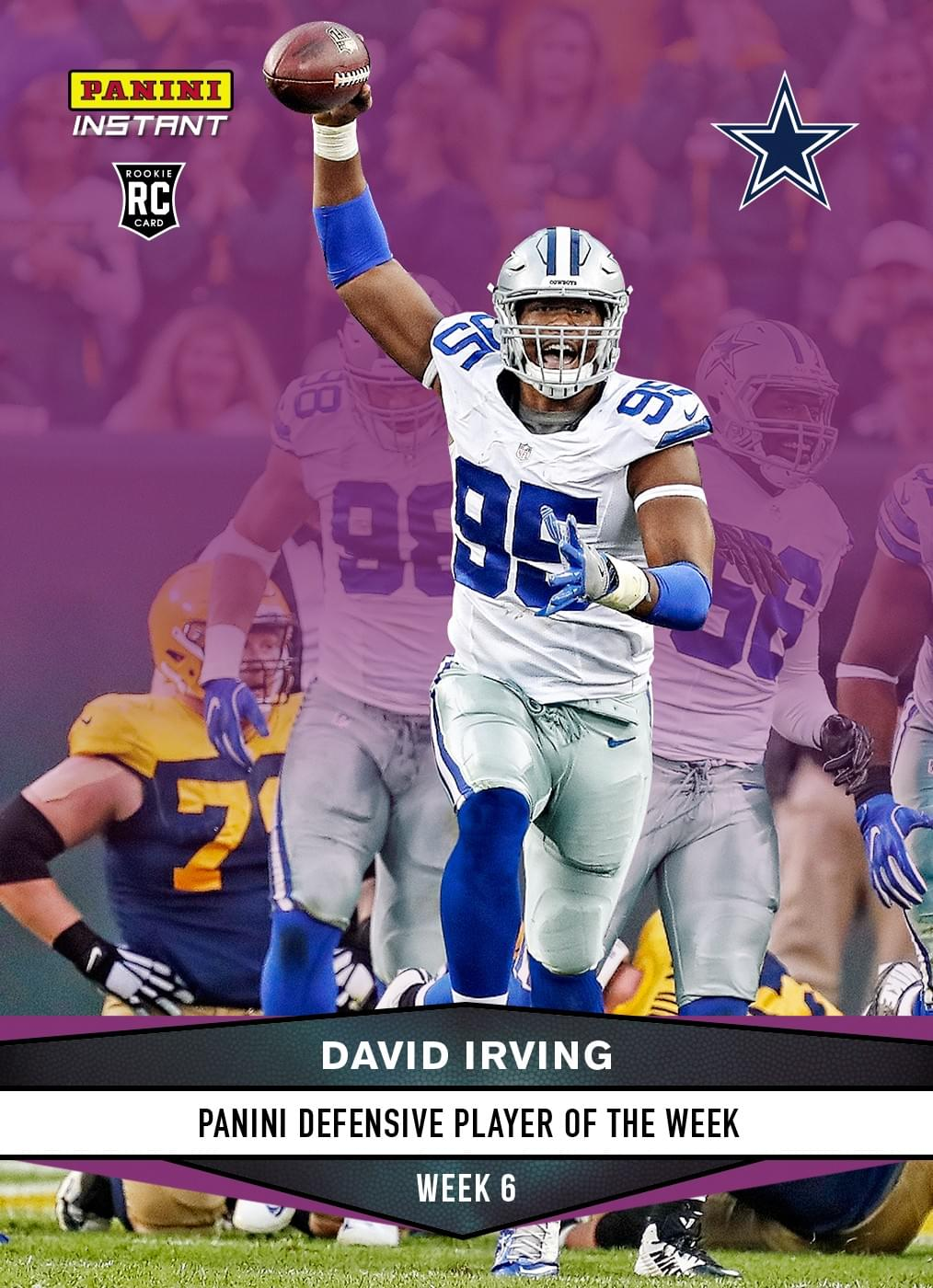DAC – Cowboys DL David Irving Suspended 4 Games