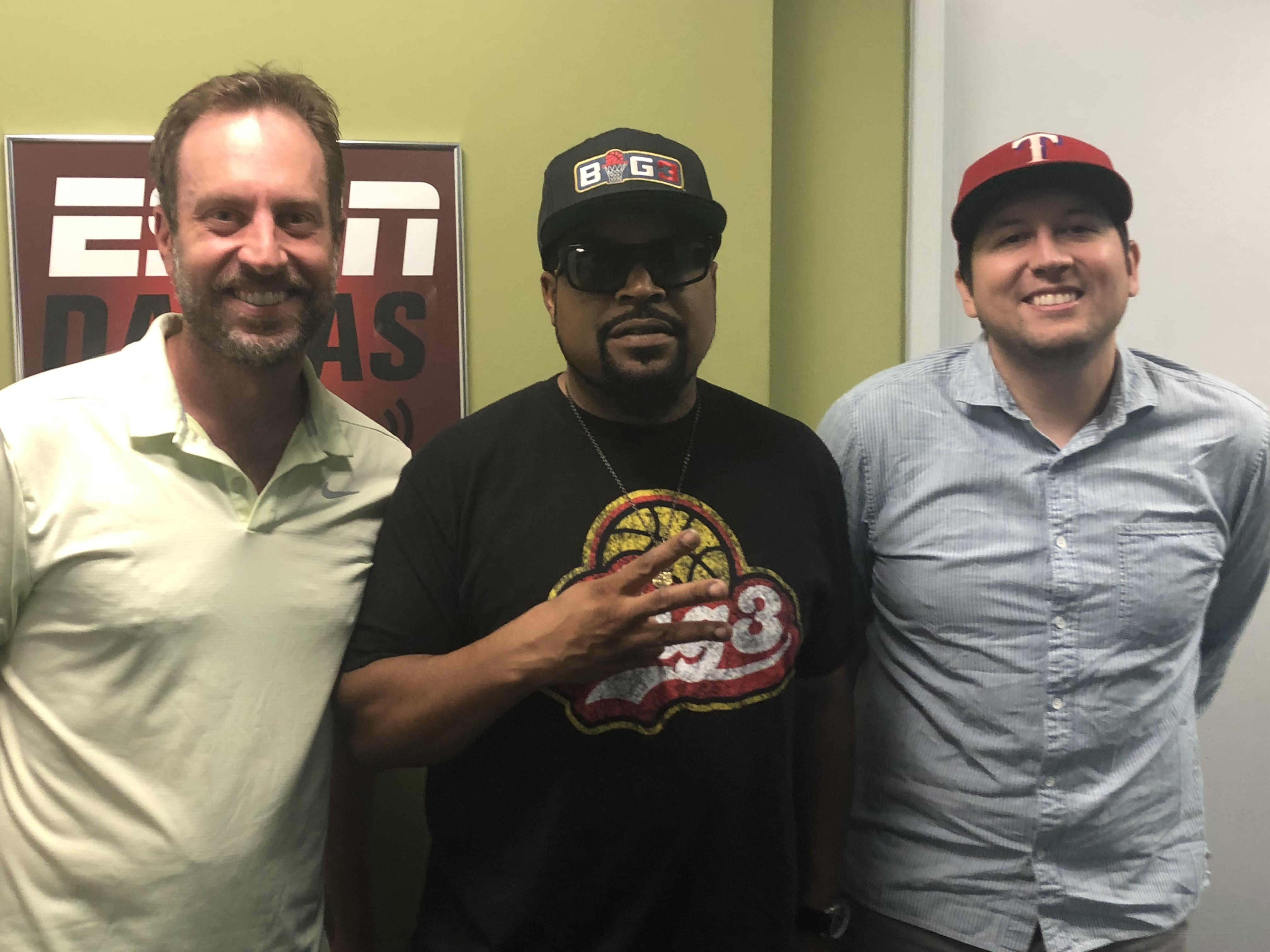 J Dub City: Legendary Rapper/ Big 3 Founder Ice Cube In Studio