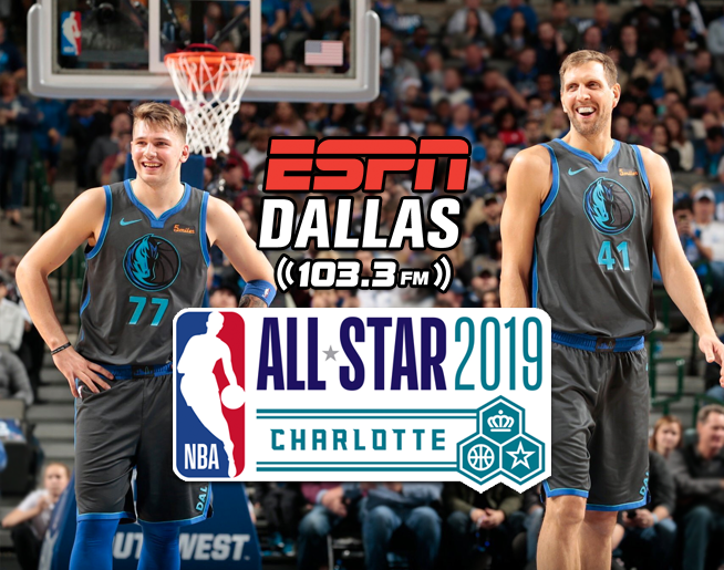 Listen to Dirk and Luka Through All Star Weekend Only on