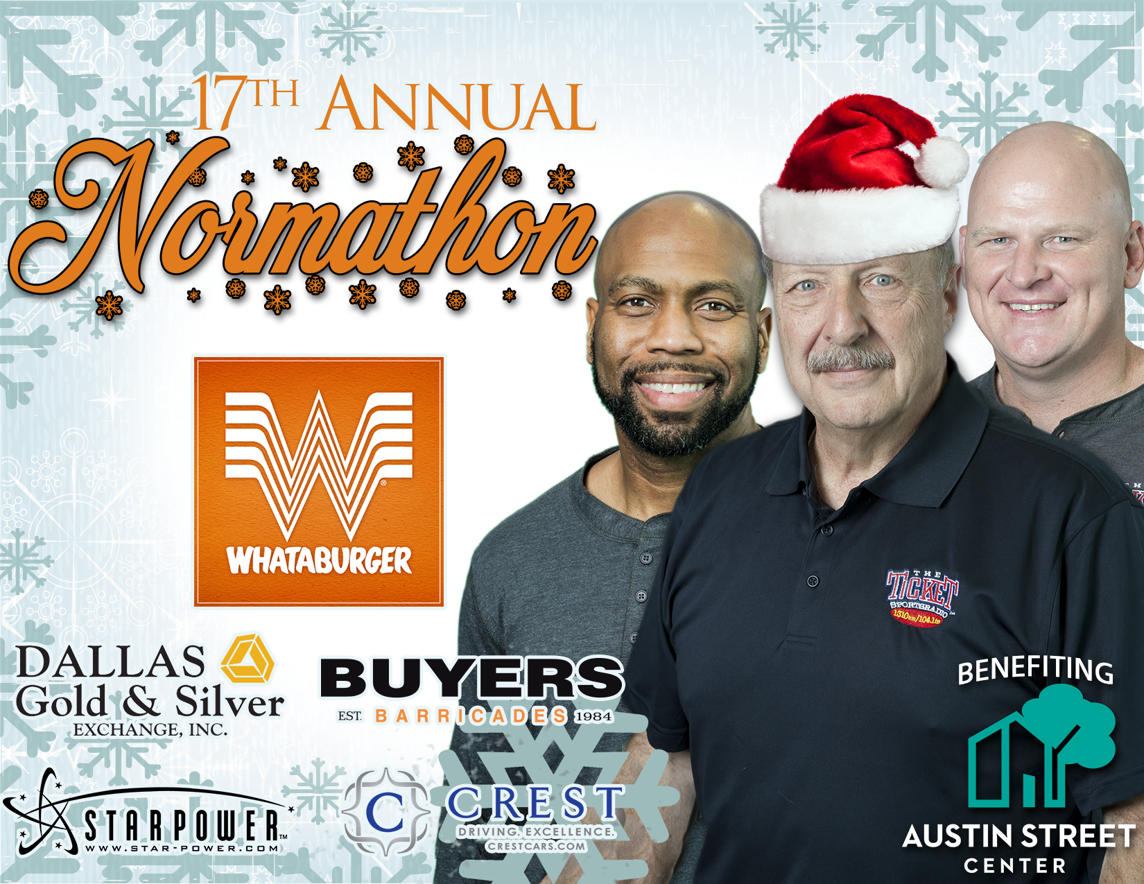 17th annual whataburger normathon at starpower - Is Whataburger Open On Christmas Day