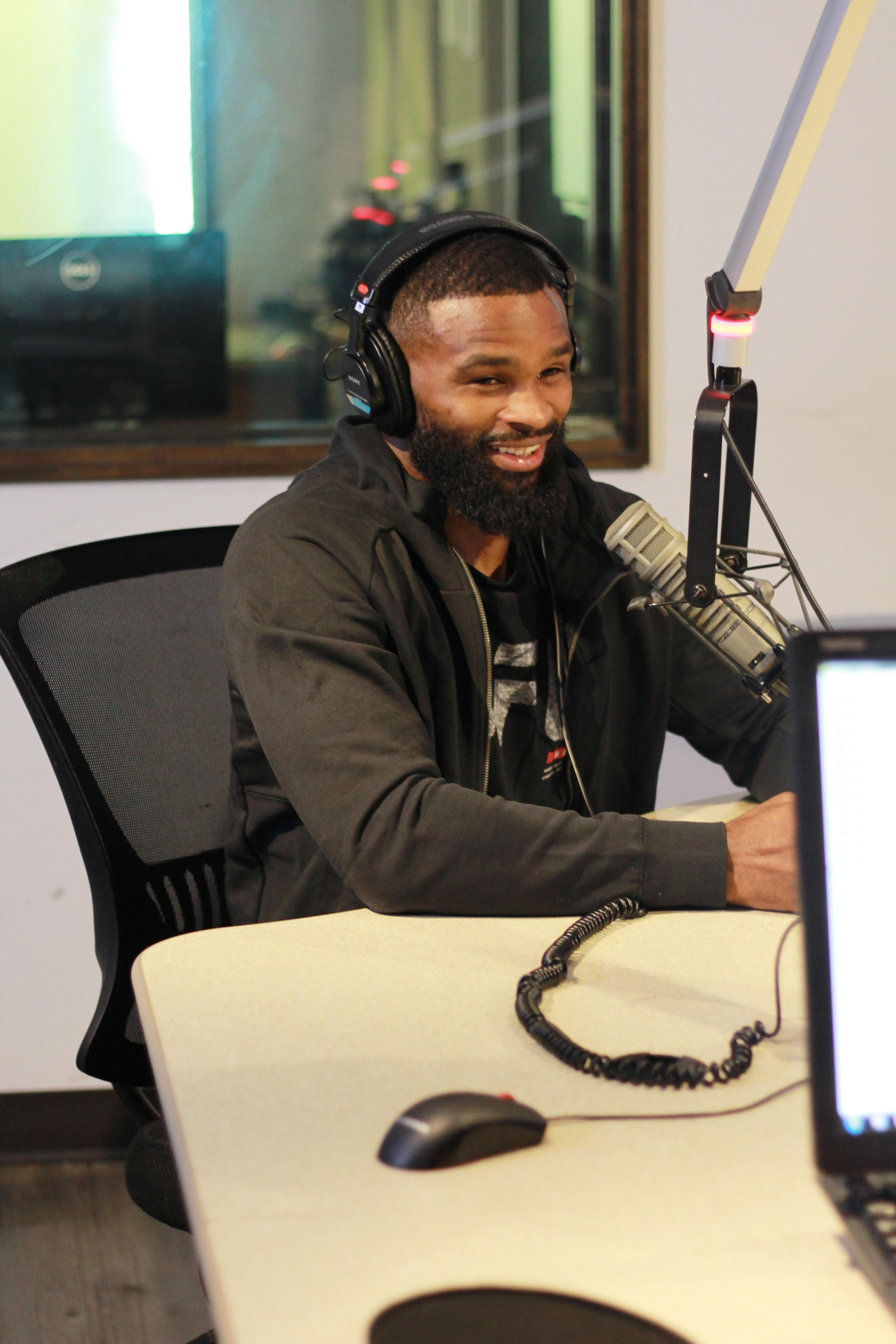 UFC's Tyron Woodley in studio with BaD Radio