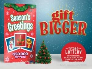 Texas Lottery – Season's Greetings Scratch Tickets
