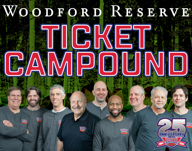 The Woodford Reserve Musers Ticket Compound Starts Wednesday May 8