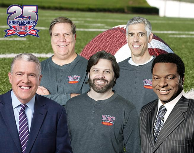 The Musers with NFL and College Football Insiders Peter King and Brian Jones Every Week!