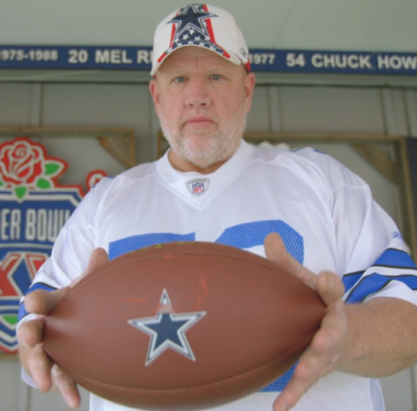 Dallas Cowboys Fan Up for National Honor