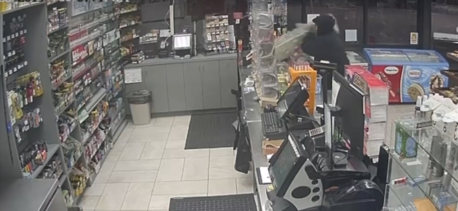 WATCH: Dallas Police Search for Lottery Ticket Dispenser Thief