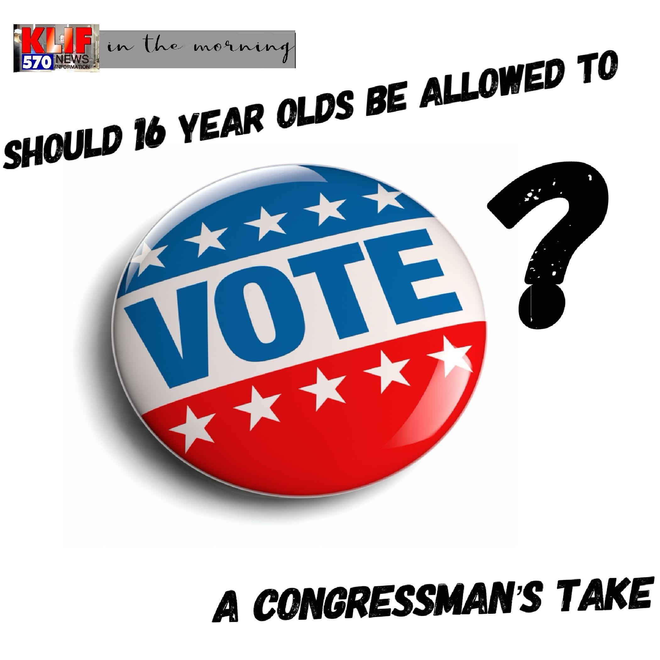 Should 16 Year Olds Be Allowed to Vote?
