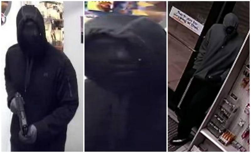 Police are looking for a pair of active armed robbers