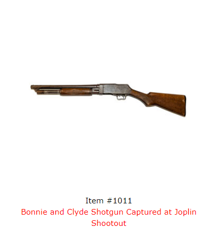Bonnie Parker's Poetry Book, Clyde Barrow's Watch Among Items Up For Auction