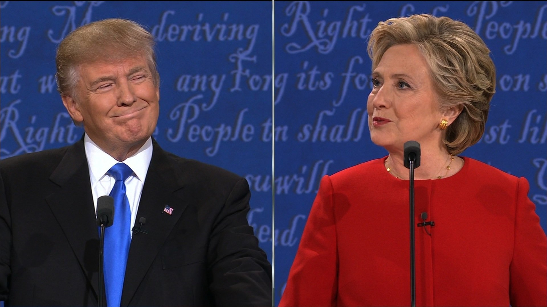 A Bad Lip Reading: Debate Night!