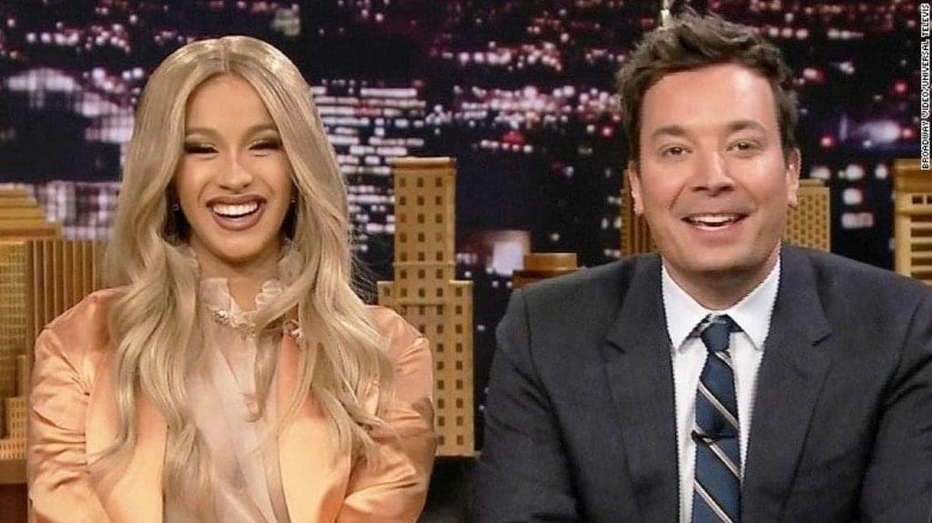 Cardi B On Jimmy Fallon Last Night