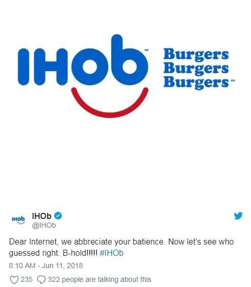 Restaurants Respond To IHop Changing Their Name to IHOB