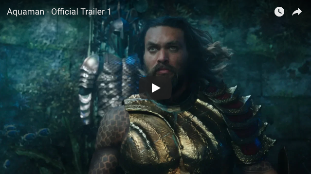 DC Released First Trailer For 'Aquaman'