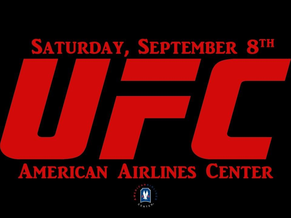 UFC 228 @ American Airlines Center | 9.8.18