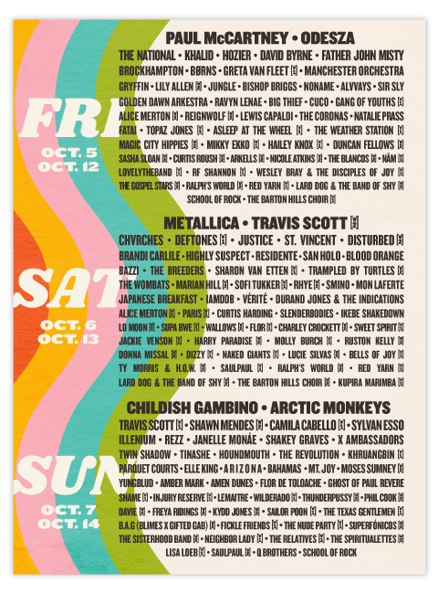 ACL @ Zilker Park in Austin October 12th – 14th
