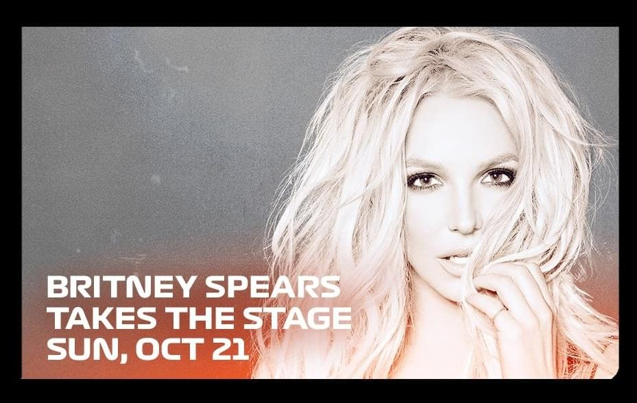 Brittany Spears Performing Live @ Formula 1 Grand Prix in Austin October 21st
