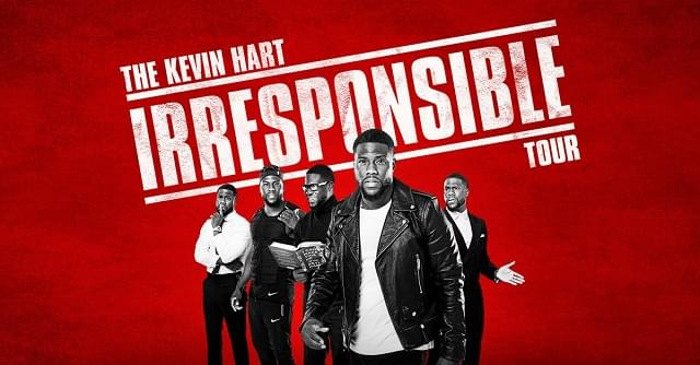 Kevin Hart's Irresponsible Tour @ American Airlines Center October 26th
