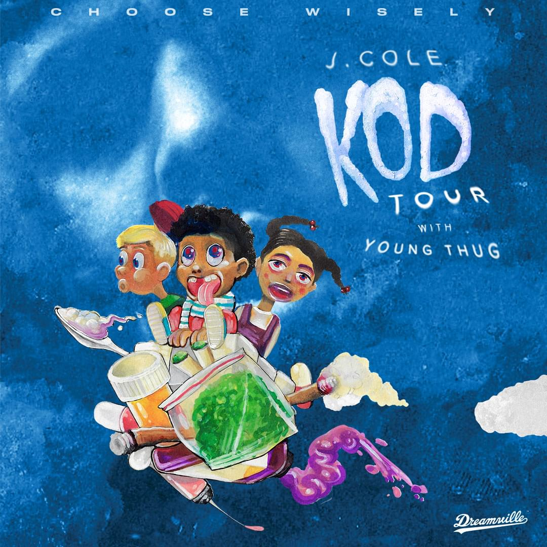 J Cole @ American Airlines Center August 18th