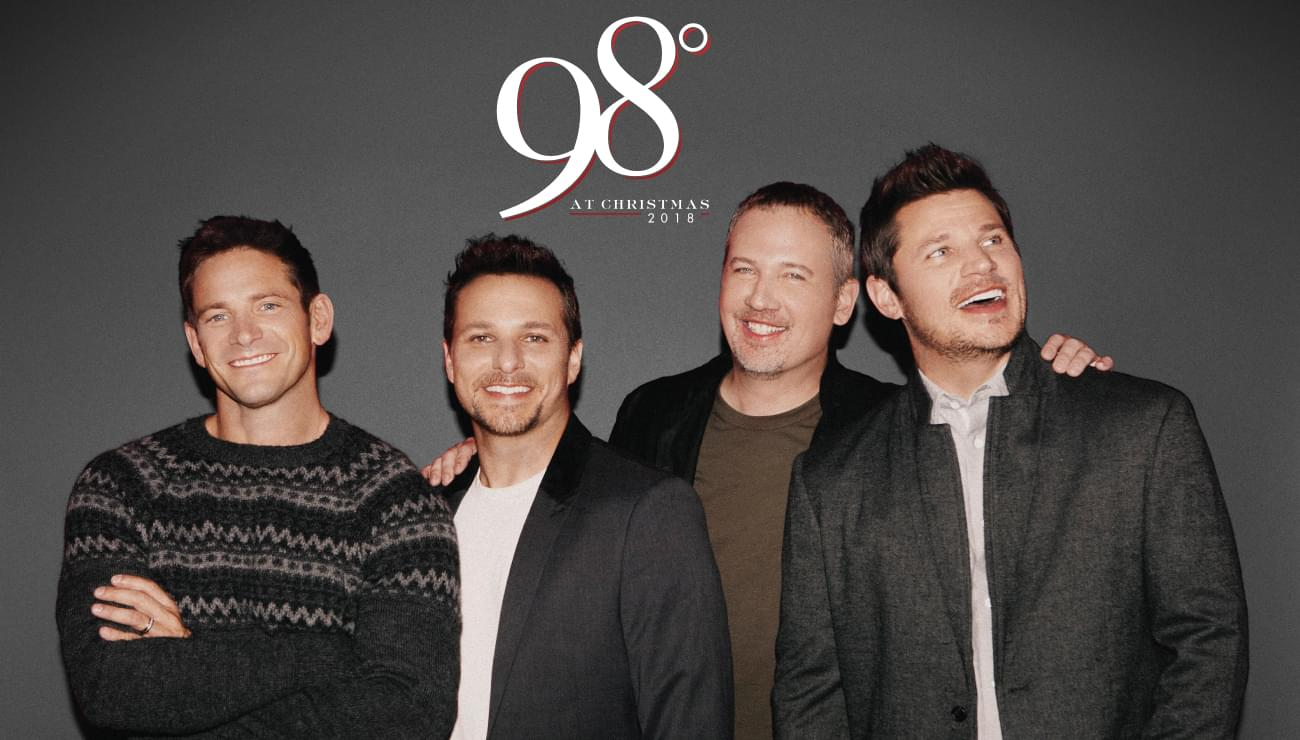 98 Degrees @ The House of Blues December 1st