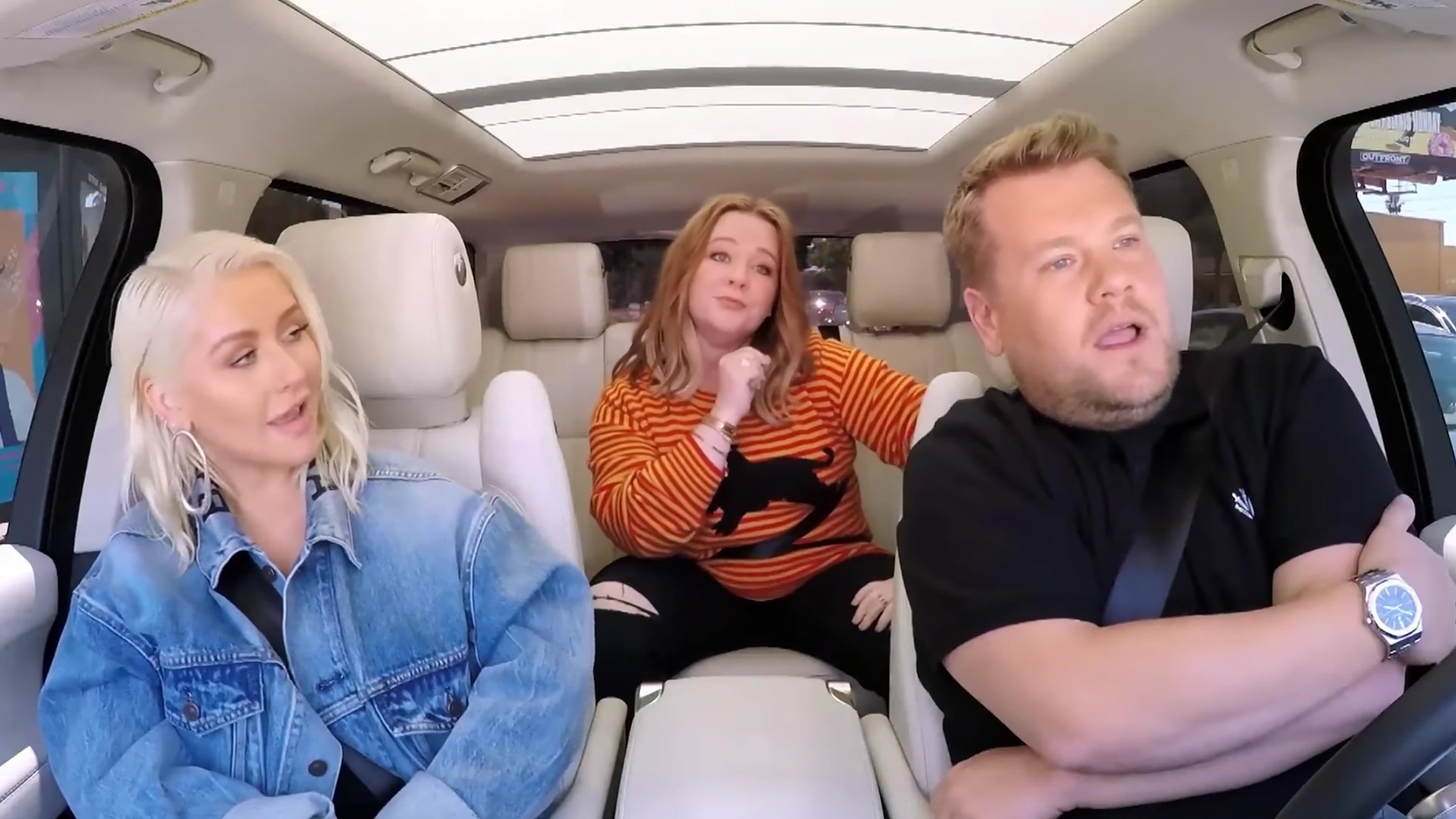 Christina Aguilera and Melissa McCarthy team up for 'Carpool Karaoke'