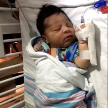 10 year old saves newborn from watching youtube videos