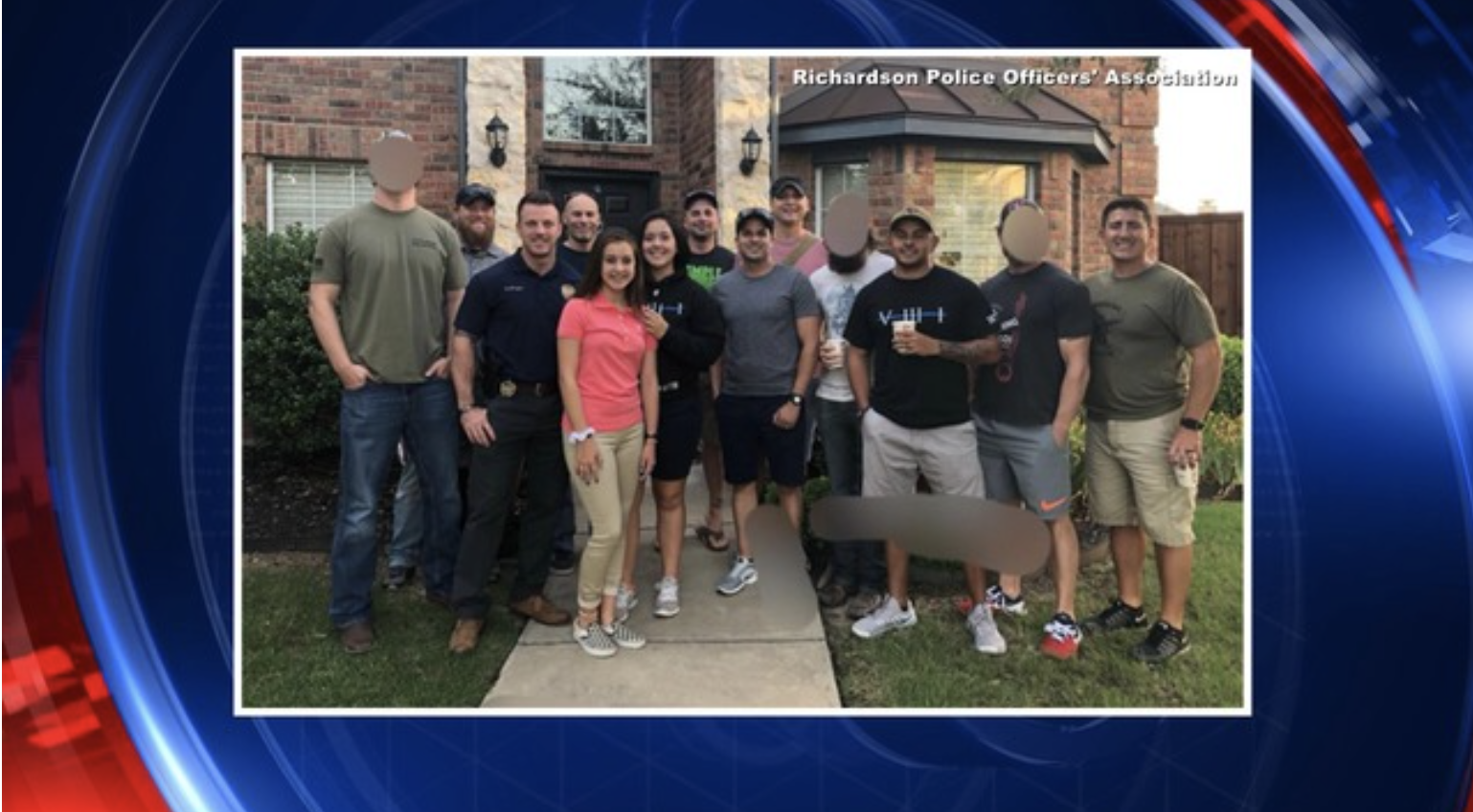 North Texas fallen officers' children escorted to first day of school