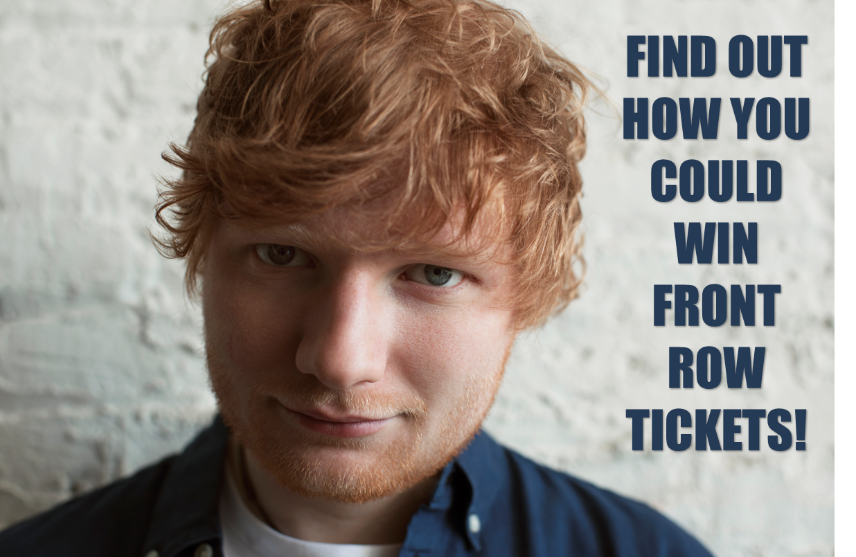 Win ed sheeran tickets twice a day qualify for front row tickets win ed sheeran tickets twice a day qualify for front row tickets m4hsunfo