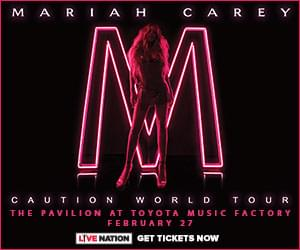 Mariah Carey @ The Pavilion at Toyota Music Factory | 2.27.19