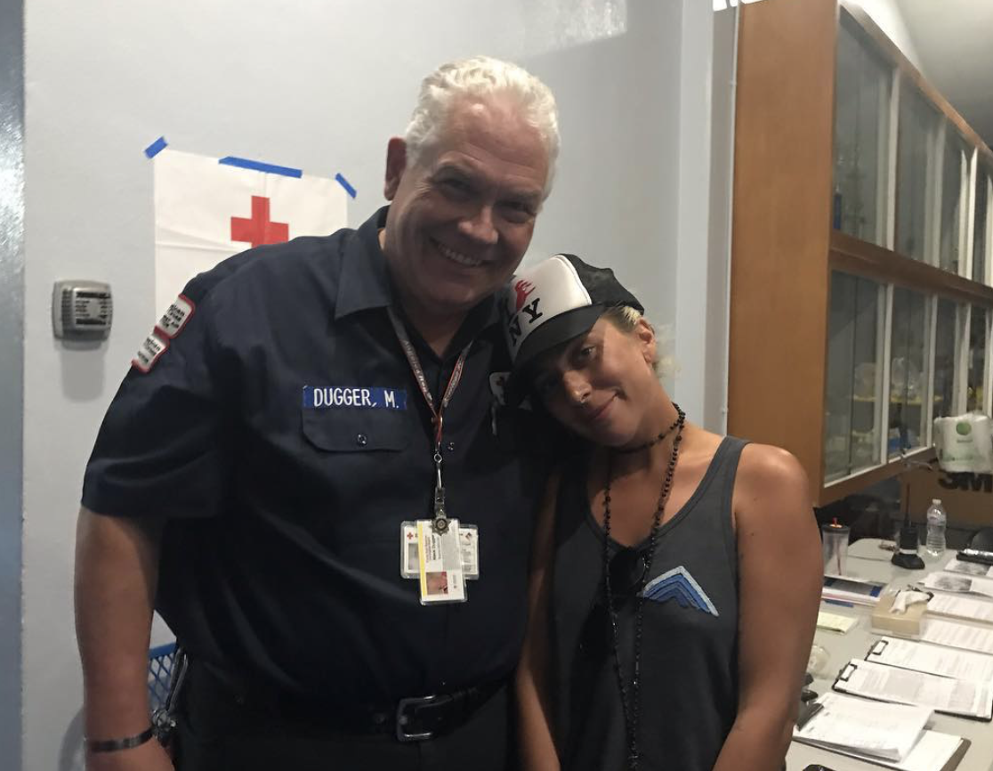 Feel Good: Lady Gaga Gives an Emotional Speech at a Red Cross Wildfire Shelter