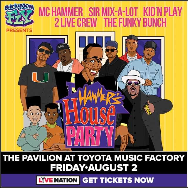 Hammer's House Party @ Toyota Music Factory | 8.2.19