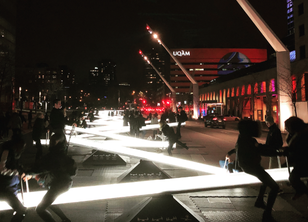 These New Light Up Seesaws Are Coming To Dallas And You Can Ride Them For Free