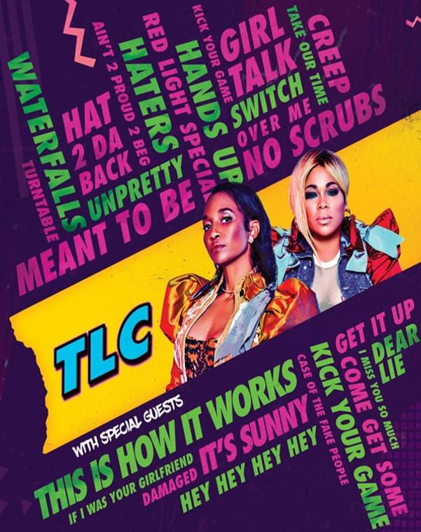 TLC @ Pavilion at Toyota Music Factory | 8.25.19