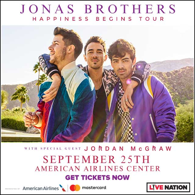 Jonas Brothers @ AAC | 12.6.19
