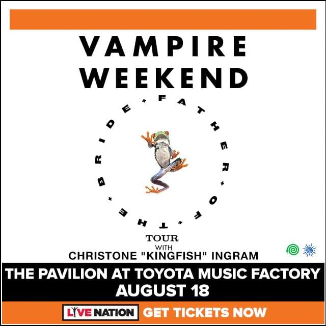 Vampire Weekend @ Pavilion at Toyota Music Factory | 8.18.19