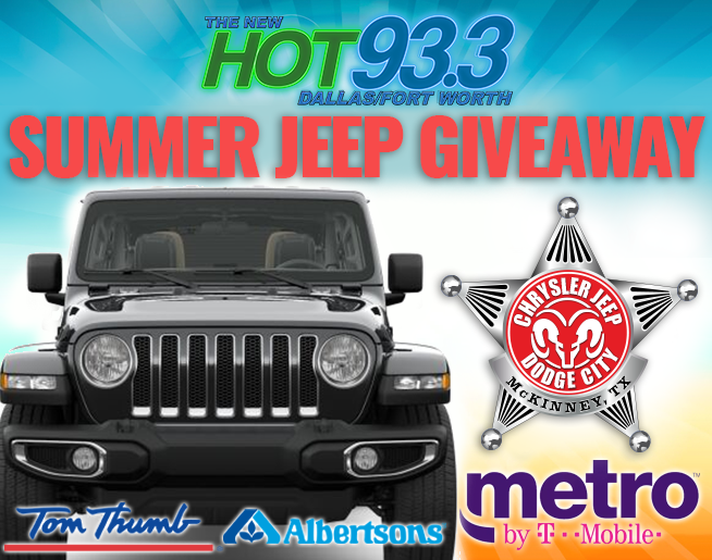 LAST CHANCE Summer Jeep Giveaway @ Chrysler, Jeep, Dodge City of McKinney | 8.24.19