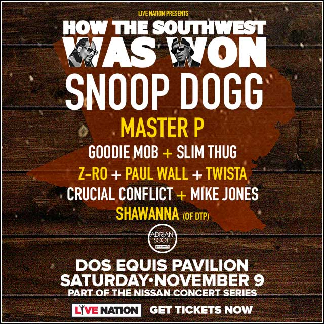 How The Southwest Was Won @ Dos Equis Pavilion | 11.9.19