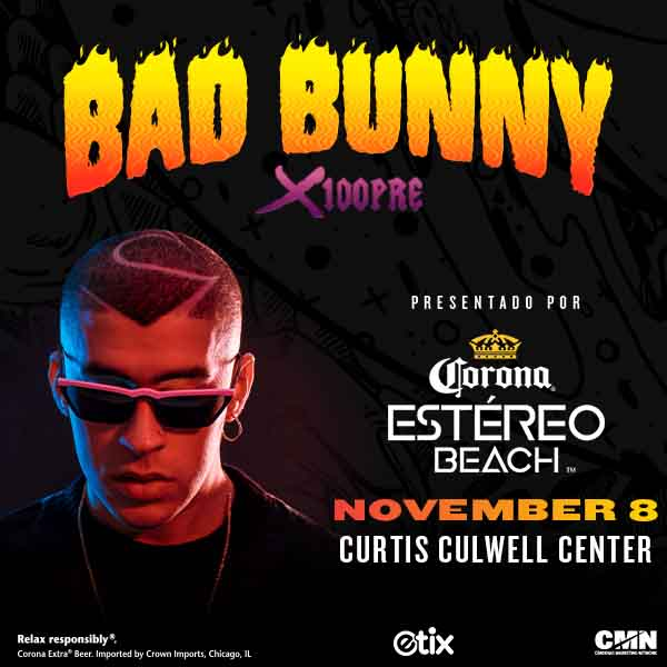 Bad Bunny @ Curtis Culwell Center | 11.8.19