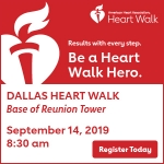 The Heart Walk with the American Heart Association