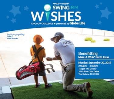 Make a Wish, Swing for Wishes @ Top Golf | 9.30.19