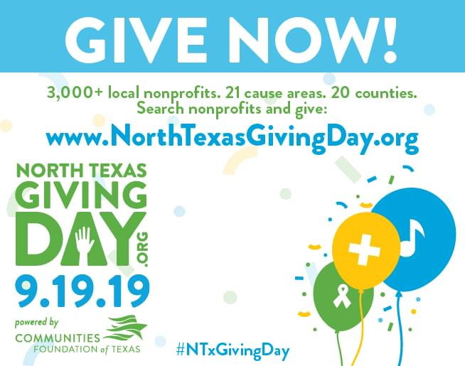 North Texas Giving Day | 9.19.19