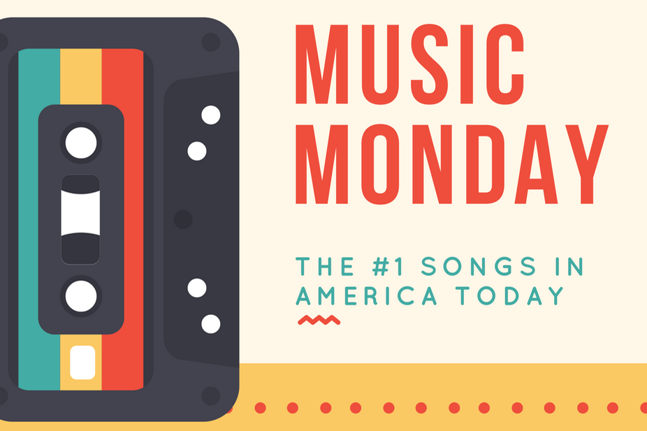 Music Monday: North Texas artist tops chart and here are the other #1 songs in America! (6/18/18)