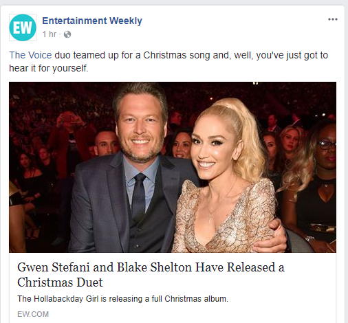 is this tweet from blake super cute or just daddy too eww - Blake Shelton Christmas Album