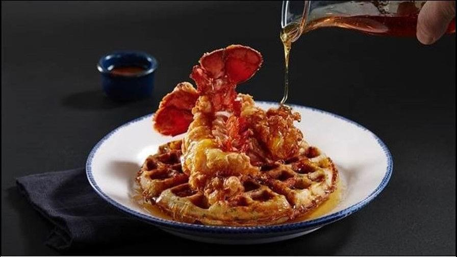 Red Lobster debuts lobster and…..waffles.