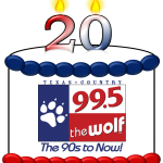 99.5 The Wolf's Birthday Celebration – 2 for $20 Ticket Offer