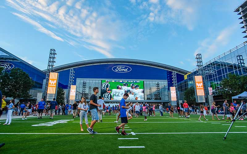 Want to see the Cowboys practice in Frisco for free?  Here's how…